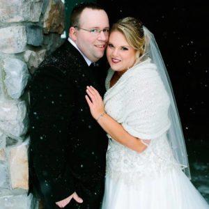 REN winter wedding